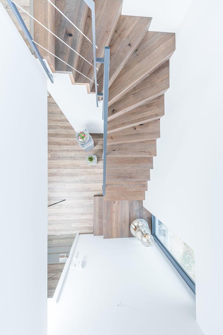 Häufig Viertelgewendelte Treppen aus Stahl und Holz | Stadler Treppen JI59