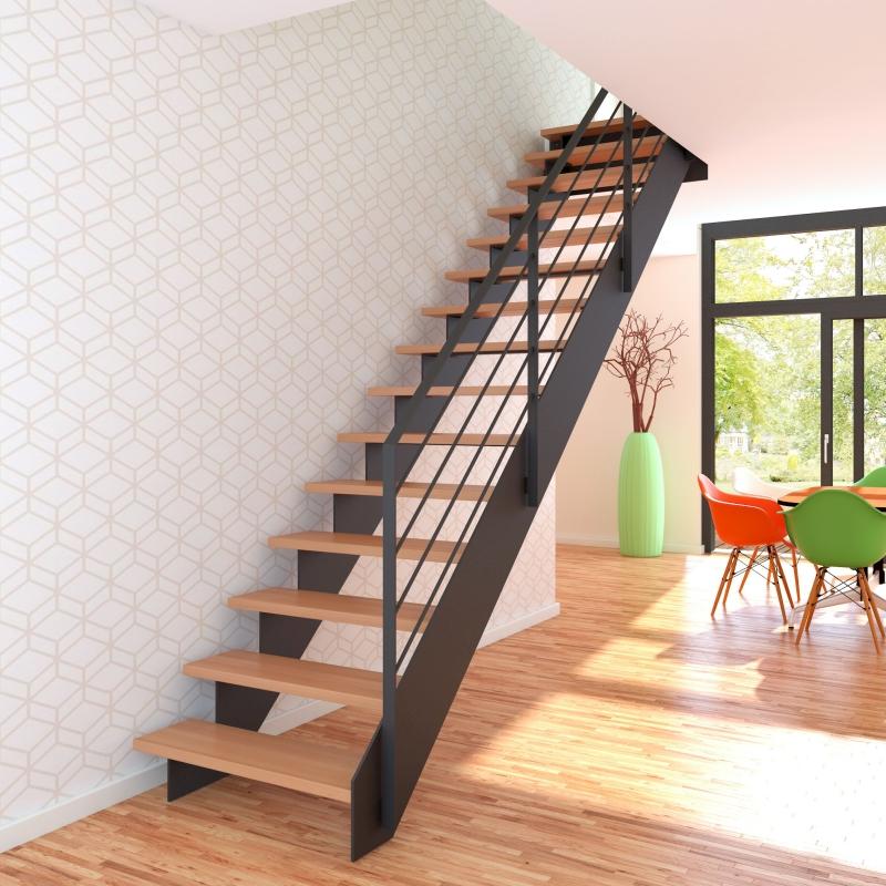idee stahl treppe. Black Bedroom Furniture Sets. Home Design Ideas