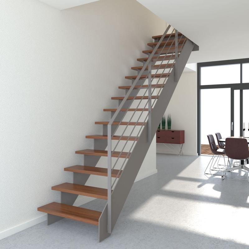 stadlerduplex flachstahl s gezahnwange in einer treppe. Black Bedroom Furniture Sets. Home Design Ideas