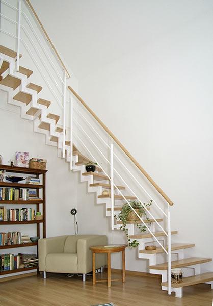raumspartreppen von stadler treppen elegant und platzsparend. Black Bedroom Furniture Sets. Home Design Ideas