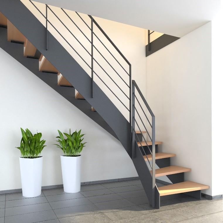 unser neuester treppentyp stadler duplex. Black Bedroom Furniture Sets. Home Design Ideas
